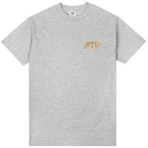 FTP Bling Logo Tee Heather Grey 💛